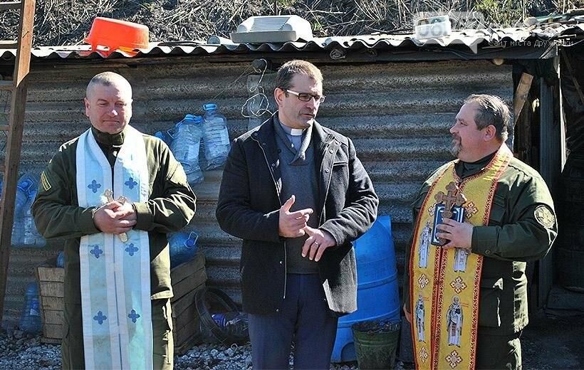Психологи і капелани НГУ з Латвійськими колегами провели практичні заняття на місяцях несення служби в зоні АТО, фото-2