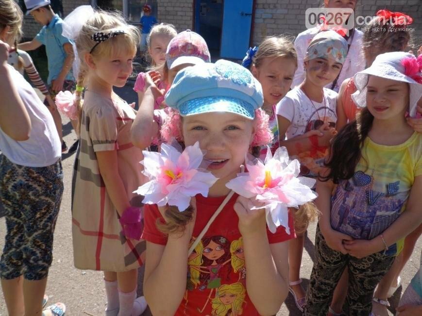 Заканчиваются веселые смены в детских пришкольных лагерях Дружковки, фото-1