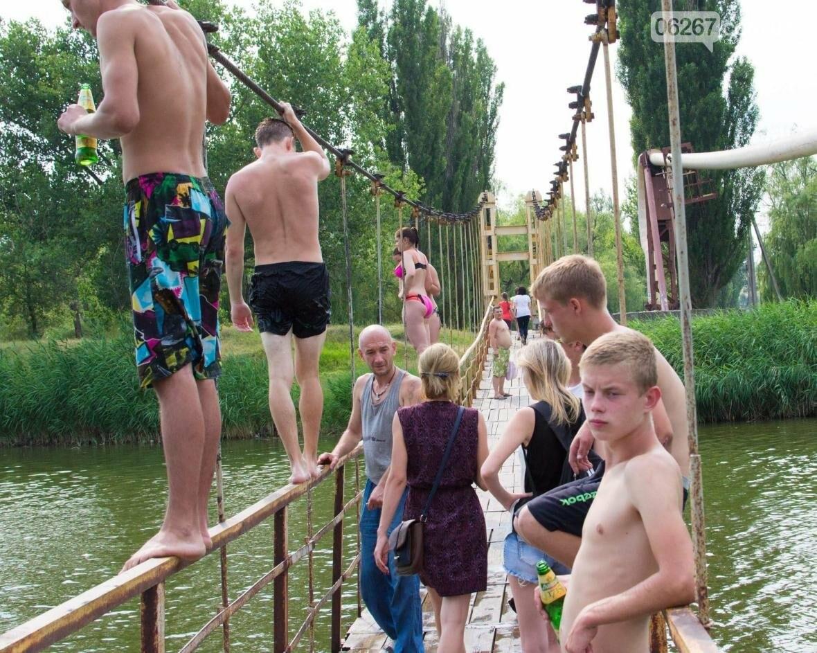 Где предпочитают купаться жители Дружковки, фото-2