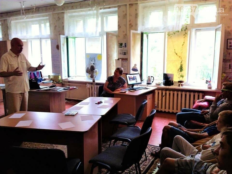 В Дружковке дети-сироты создавали символы будущего Украины, фото-1