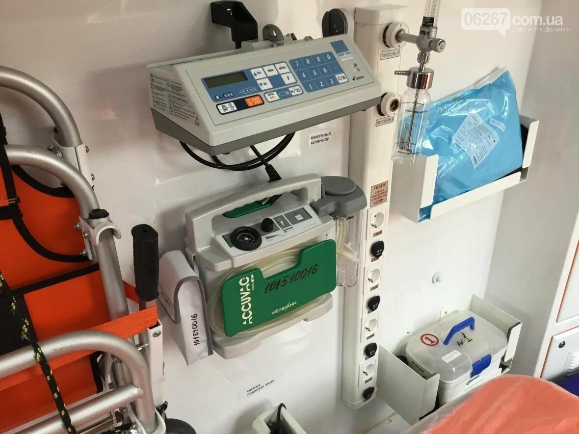 Реанимация на колёсах: Новые кареты скорой в Дружковке дадут фору кабинетам интенсивной терапии (ВИДЕО), фото-1