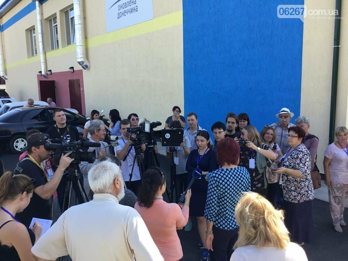 В Дружковке десяткам украинских журналистов показали опорную школу и ЦПАУ (ФОТО, ВИДЕО), фото-6