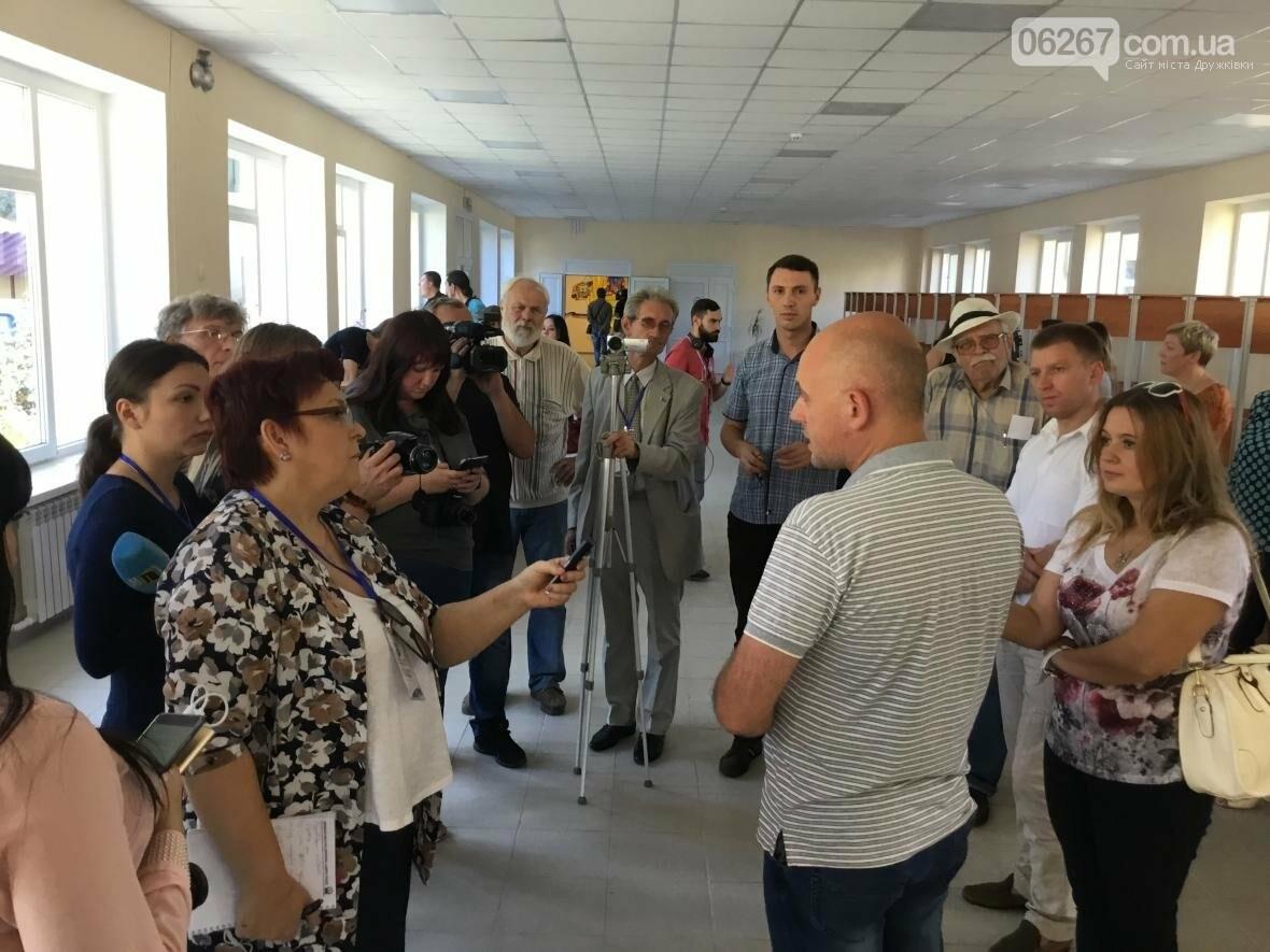 В Дружковке десяткам украинских журналистов показали опорную школу и ЦПАУ (ФОТО, ВИДЕО), фото-5
