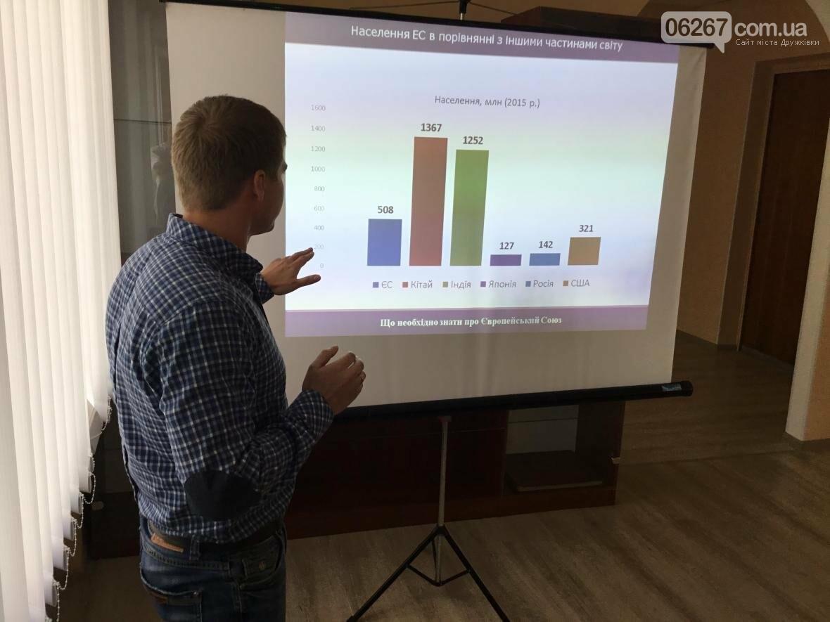 В Дружковке повышают заинтересованность громады в процессах евроинтеграции, фото-2