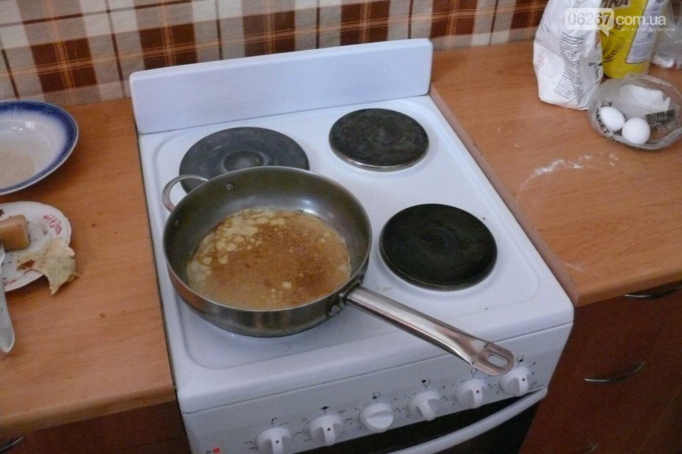 В Дружковке дети-сироты обучались искусству приготовления блинов, фото-2