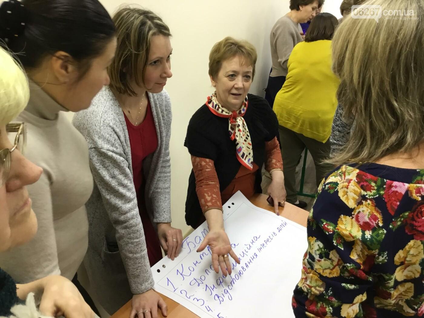 В Дружковке опорная школа становится светочем демократии  (ФОТО), фото-7