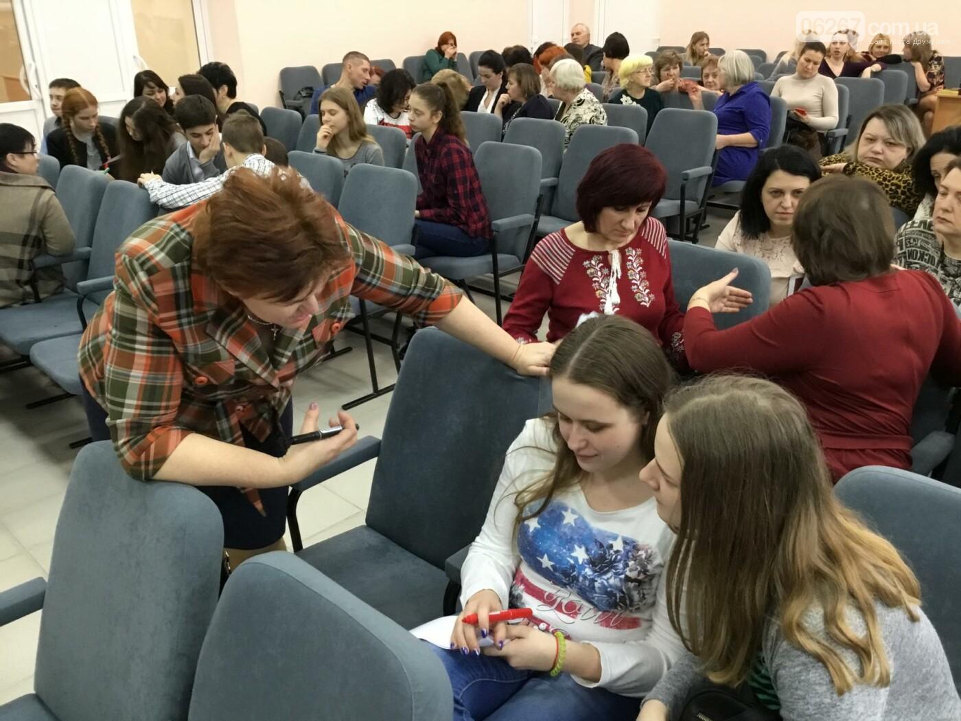 В Дружковке опорная школа становится светочем демократии  (ФОТО), фото-4