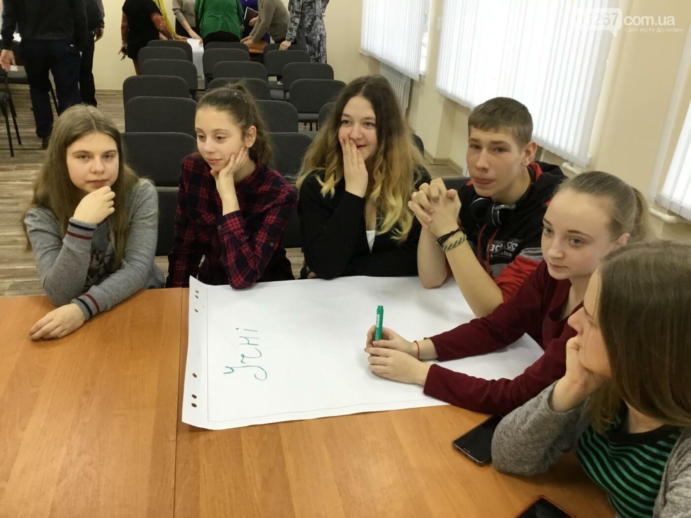 В Дружковке опорная школа становится светочем демократии  (ФОТО), фото-6