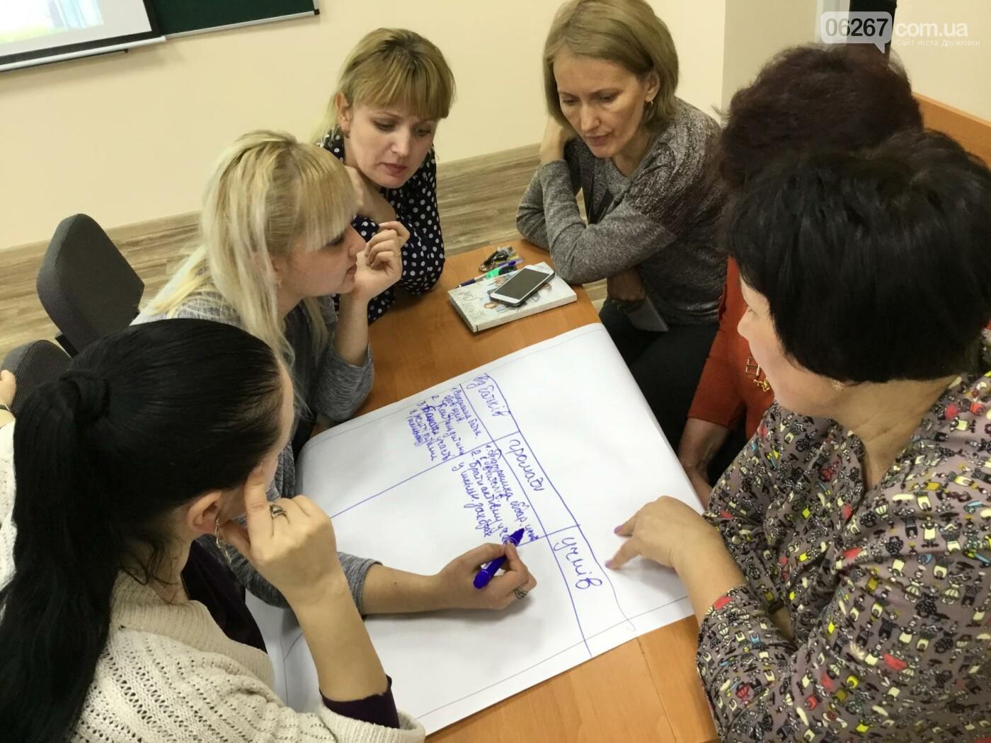 В Дружковке опорная школа становится светочем демократии  (ФОТО), фото-12