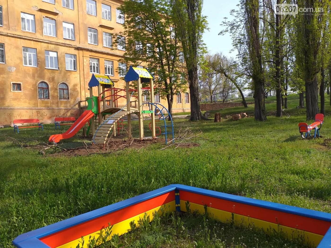 В Дружковке третий проект в рамках Общественного бюджета воплощается в жизнь (ФОТО), фото-1