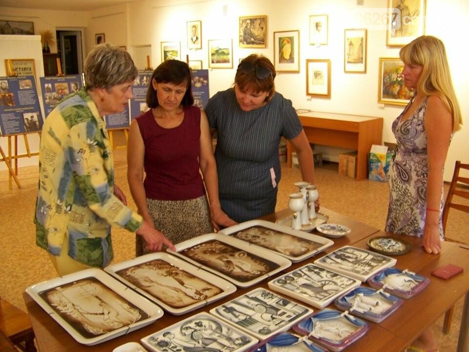 Дружківка: Нові взірці порцелянового мистецтва поповнили фонди історико-художнього музею (ФОТО), фото-2