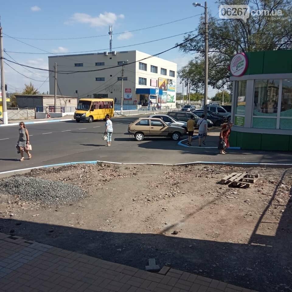 Готовность №1: Как выглядит площадь Соборная в Дружковке за сутки до празднования Дня города (ФОТО), фото-5