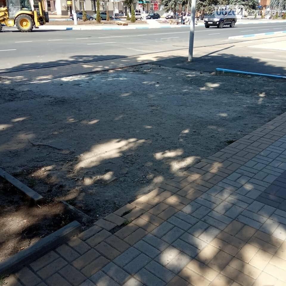 Готовность №1: Как выглядит площадь Соборная в Дружковке за сутки до празднования Дня города (ФОТО), фото-3