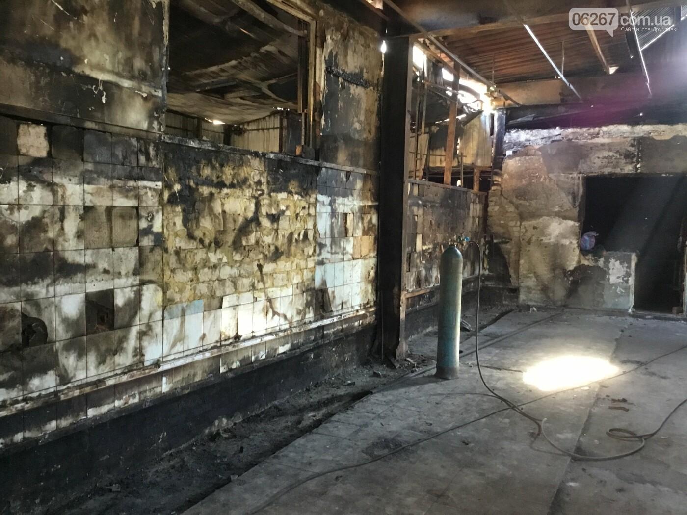 Дружковка: Как выглядит «Магнат» спустя месяц после пожара (ФОТО), фото-3