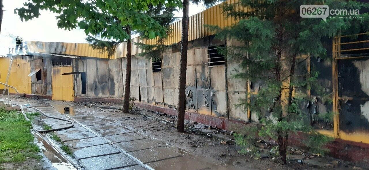 Дружковка: Как выглядит «Магнат» спустя месяц после пожара (ФОТО), фото-1