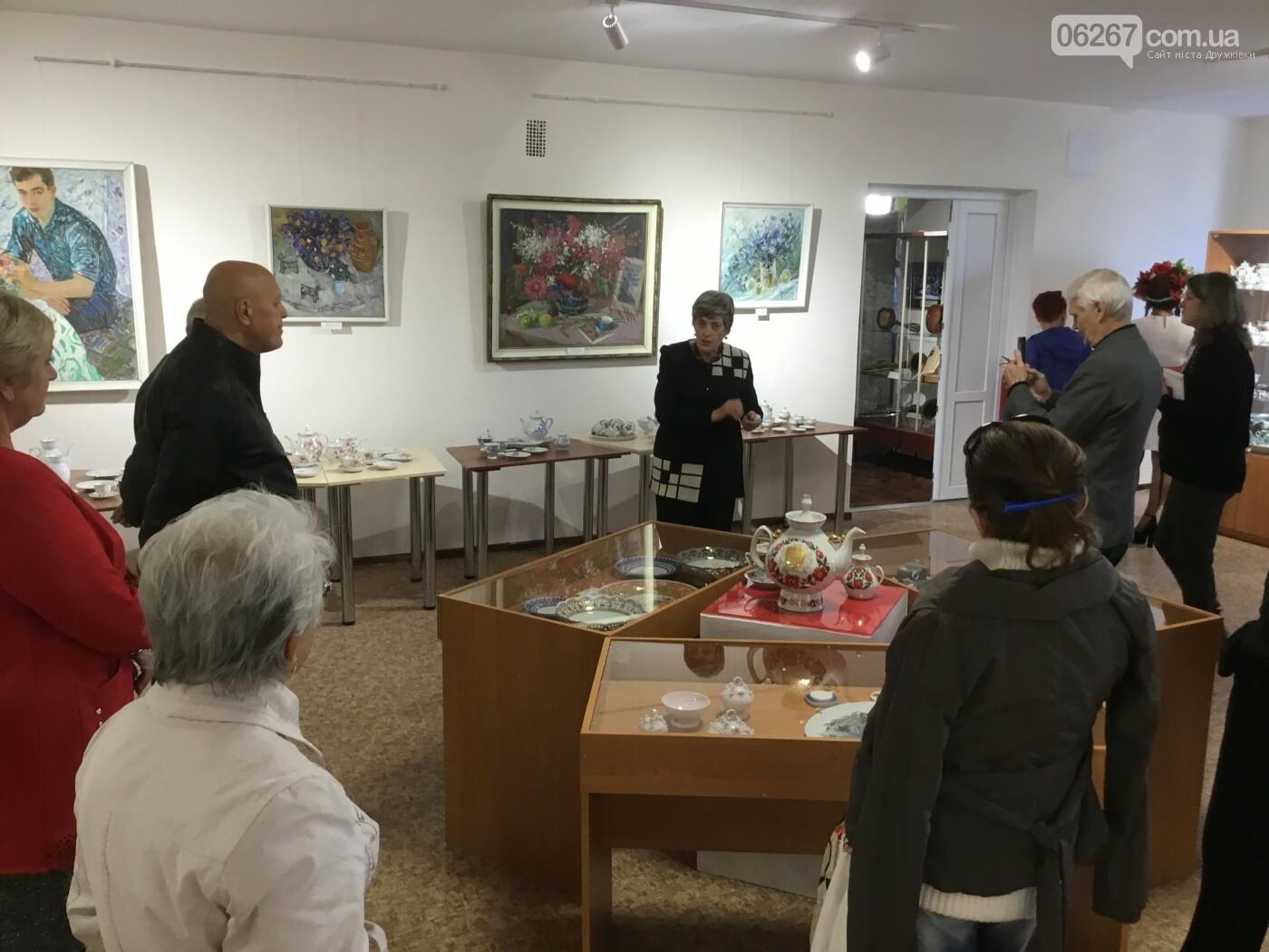 В Дружковском историко-художественном музее открылась выставка уникальных фарфоровых изделий (ФОТО) , фото-5