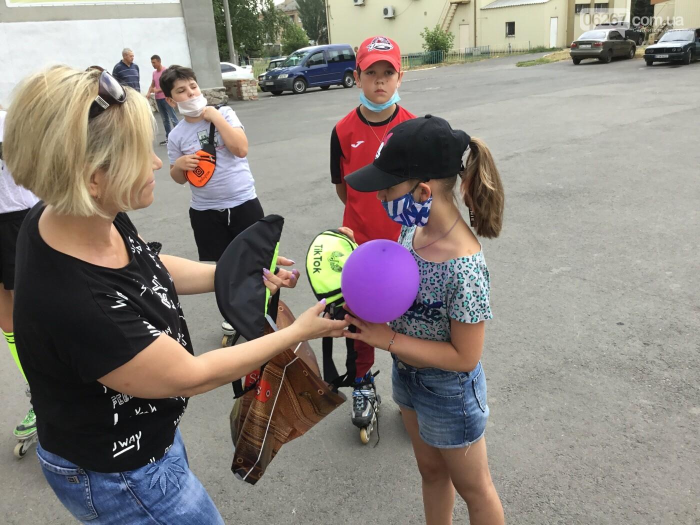 В Дружковке все участники роллер-баттла получили сегодня подарки (ФОТО), фото-13