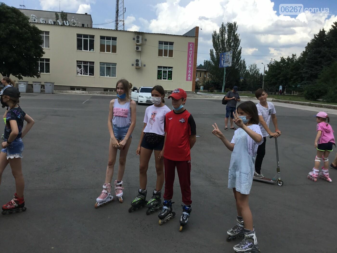 В Дружковке все участники роллер-баттла получили сегодня подарки (ФОТО), фото-5