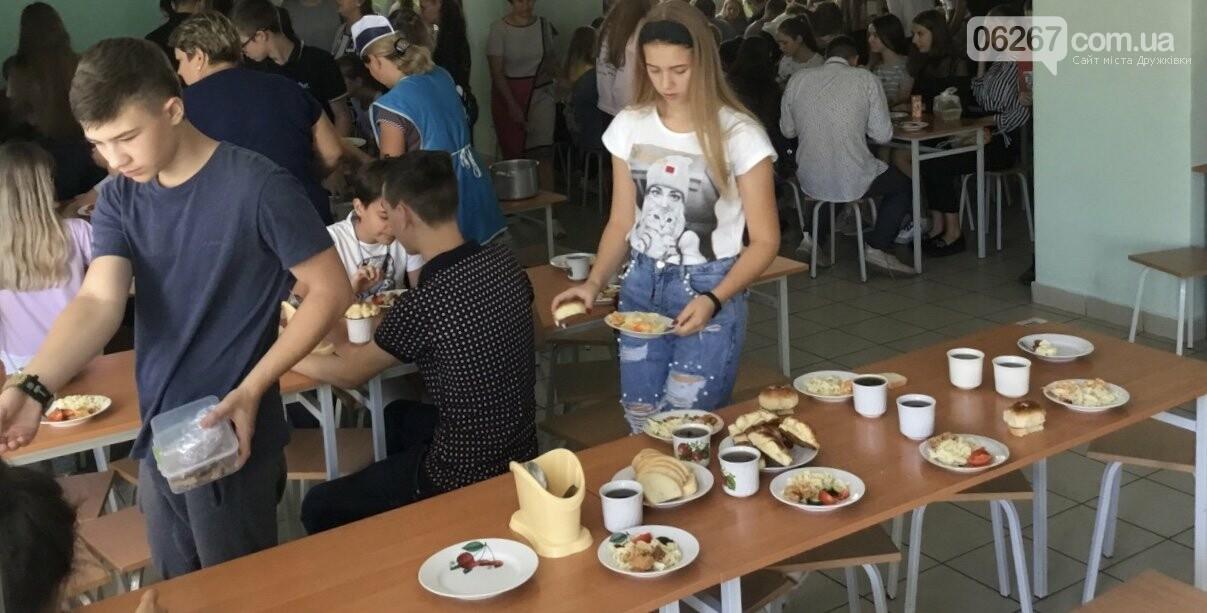 Дружківка: Шкільне харчування за методом Клопотенка призупинять в зв'язку з карантином, фото-1