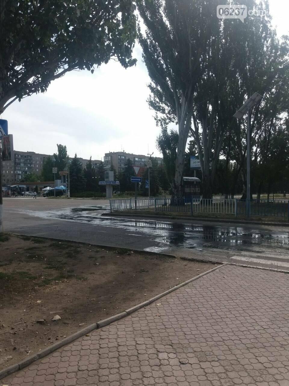Дружківка: Воду сьогодні відключено через аварію на перехресті вулиць Космонавтів та Енгельса, фото-1