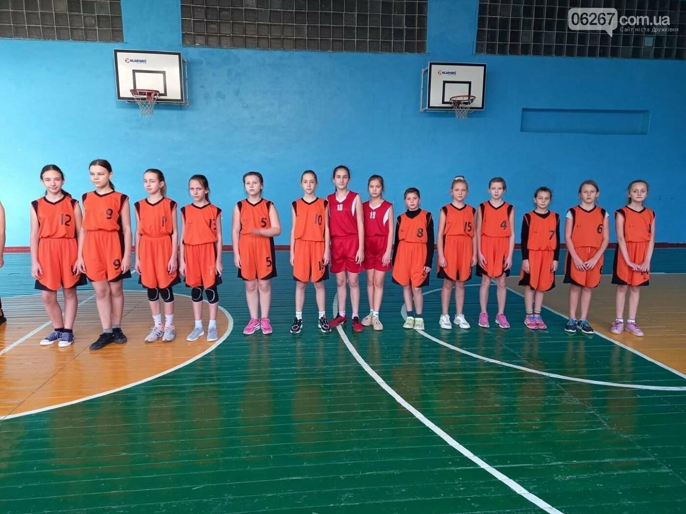 Дружківська команда дівчат перемогла у Чеміонаті Донецької області з баскетболу, фото-1
