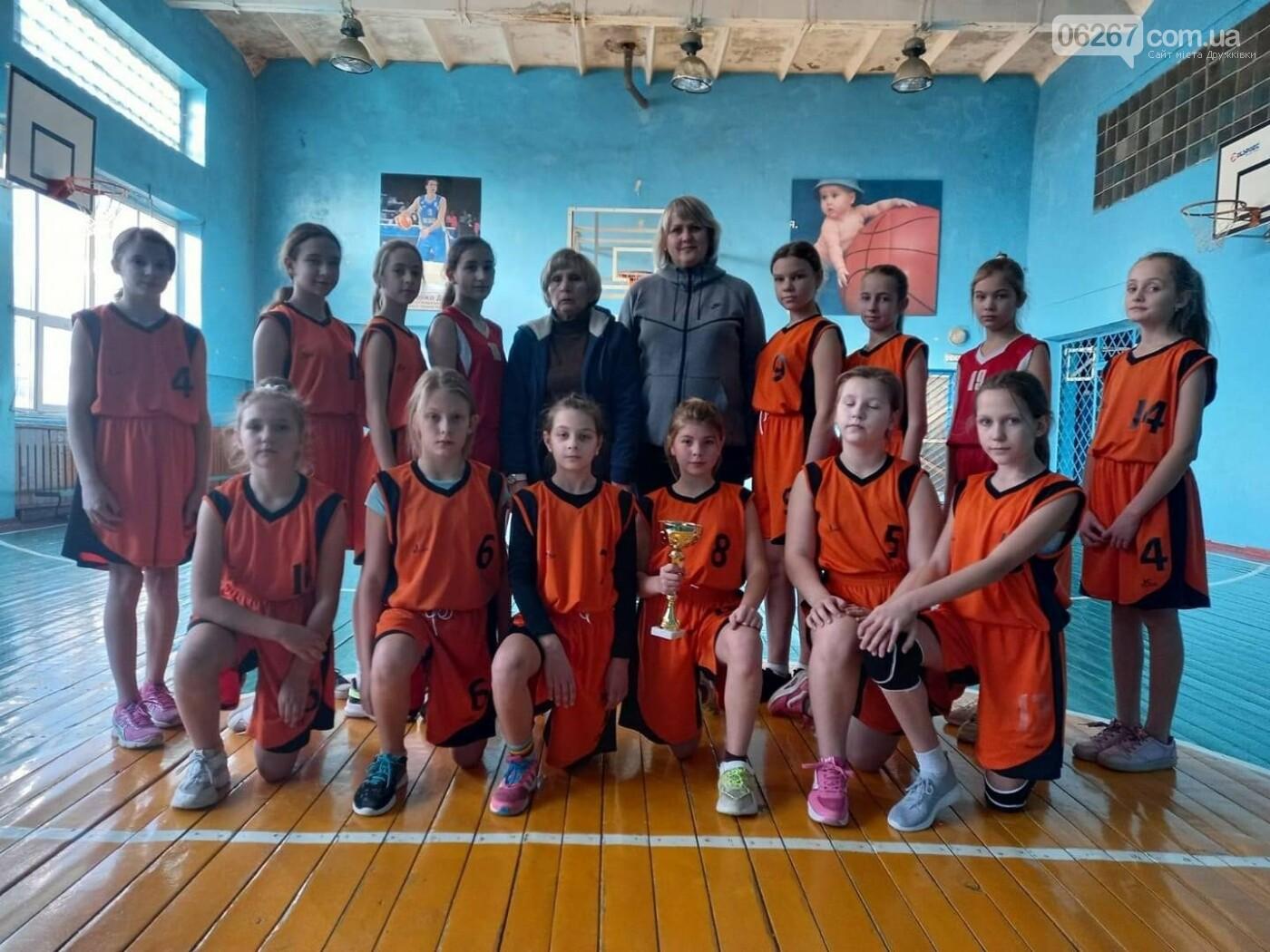Дружківська команда дівчат перемогла у Чеміонаті Донецької області з баскетболу, фото-2