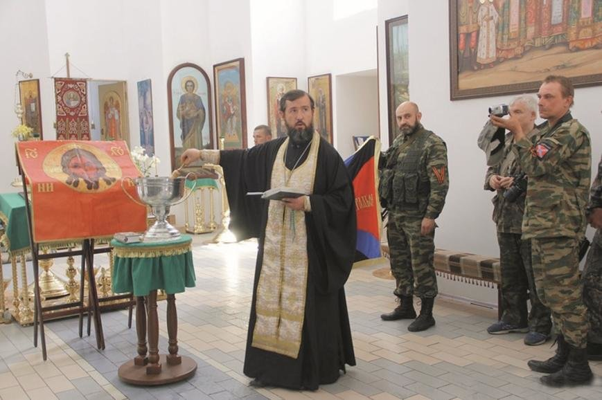 Какому народу служит Святогорская Лавра и Московский Патриархат в Славянске, фото-3