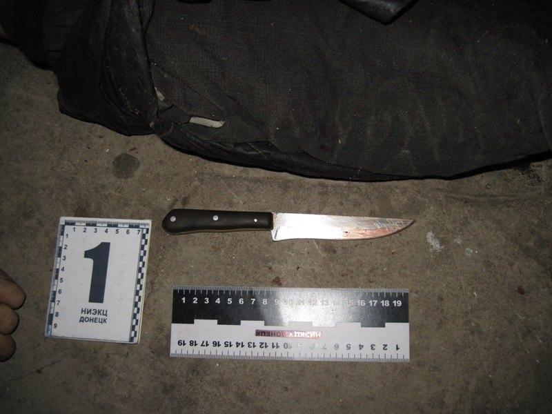 Нож в сердце: Семейная ссора в Дружковке закончилась трагедией, фото-1