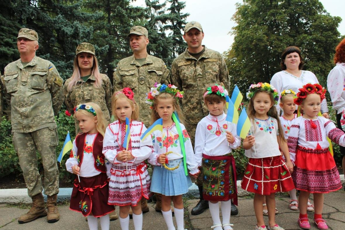 В Дружковке празднуют День Государственного флага Украины, фото-2