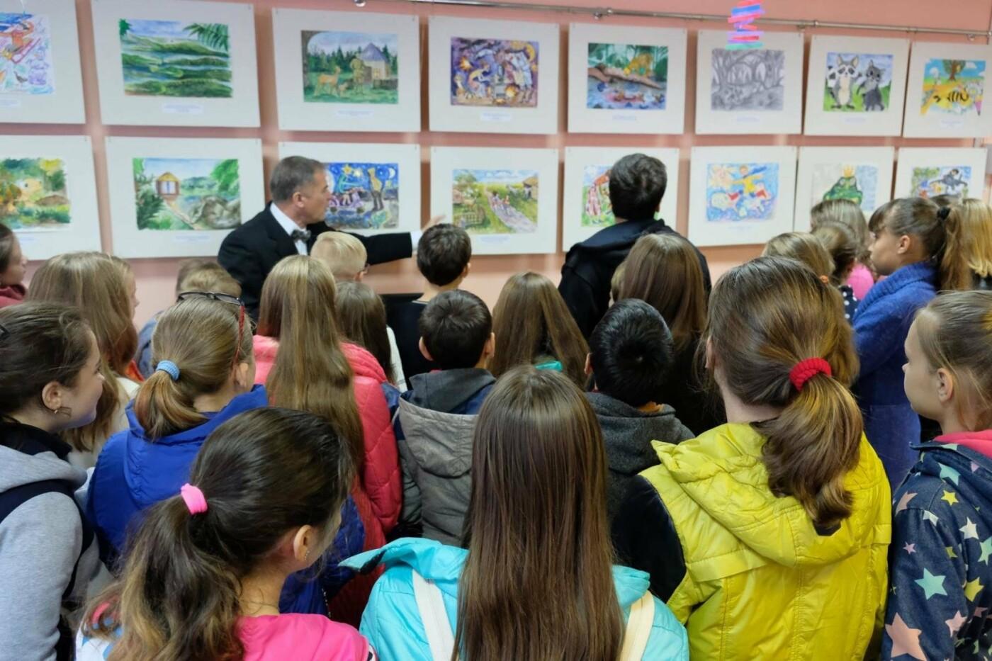 Дружковские художники учатся иллюстрировать книги, фото-1