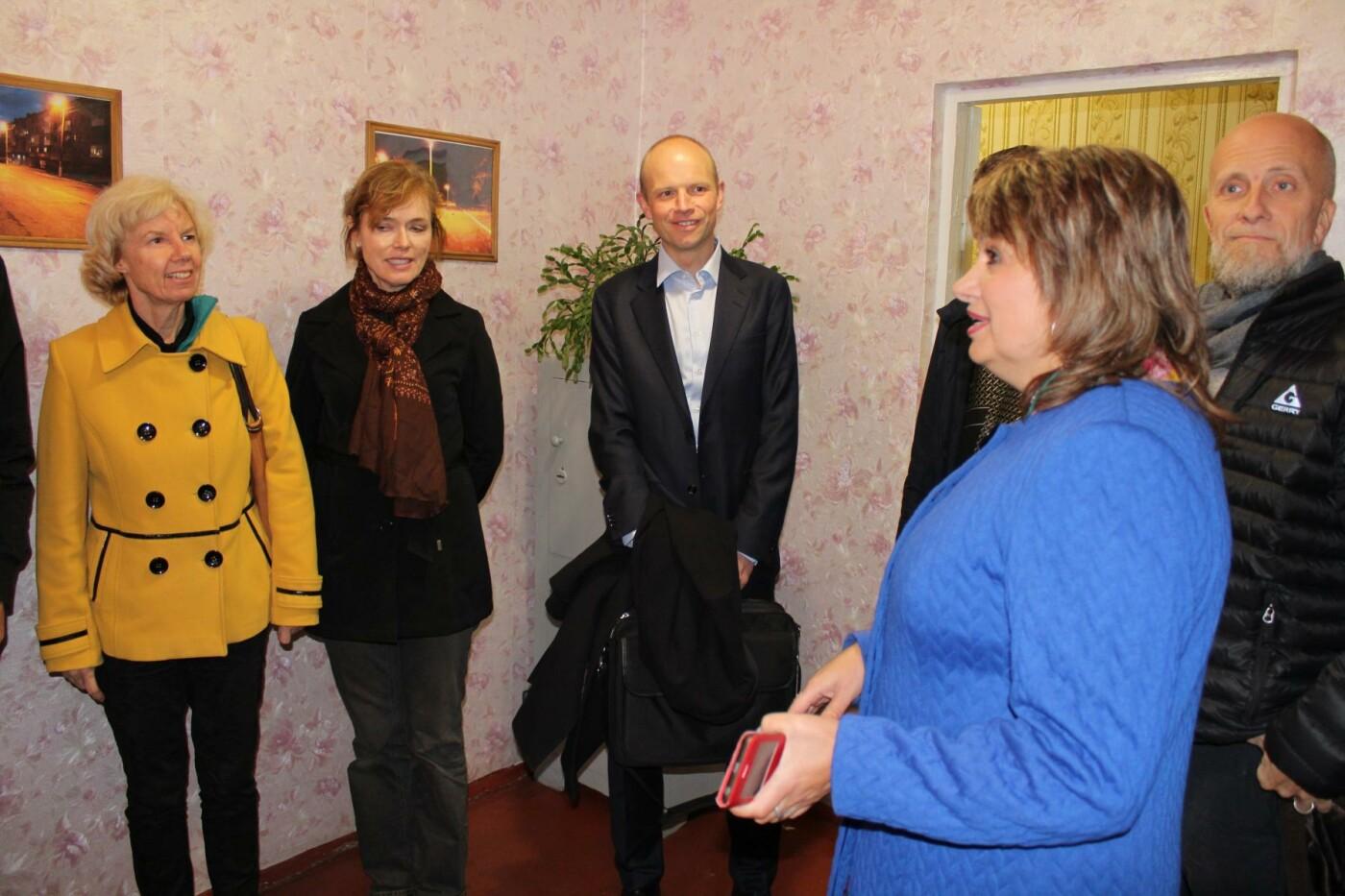 Делегация от норвежского МИДа проверила наружное освещение в Дружковке, фото-2