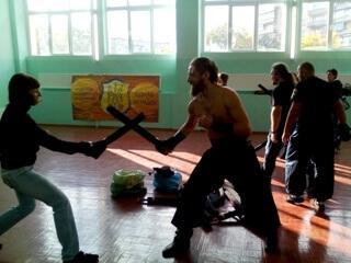 Козаки из Каменец-Подольского провели мастер-класс в Дружковке, фото-1