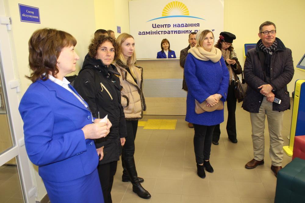 В Дружковский центр предоставления админуслуг нанесла визит делегация Евросоюза, фото-1