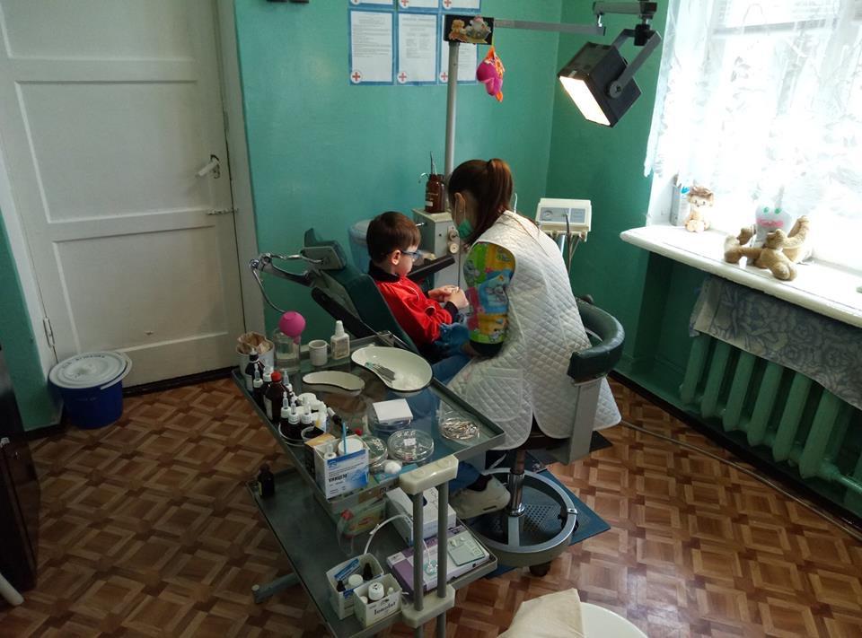 В Дружковке объявили сбор подписей под петицией с требованием отремонтировать детский стоматологический кабинет, фото-1