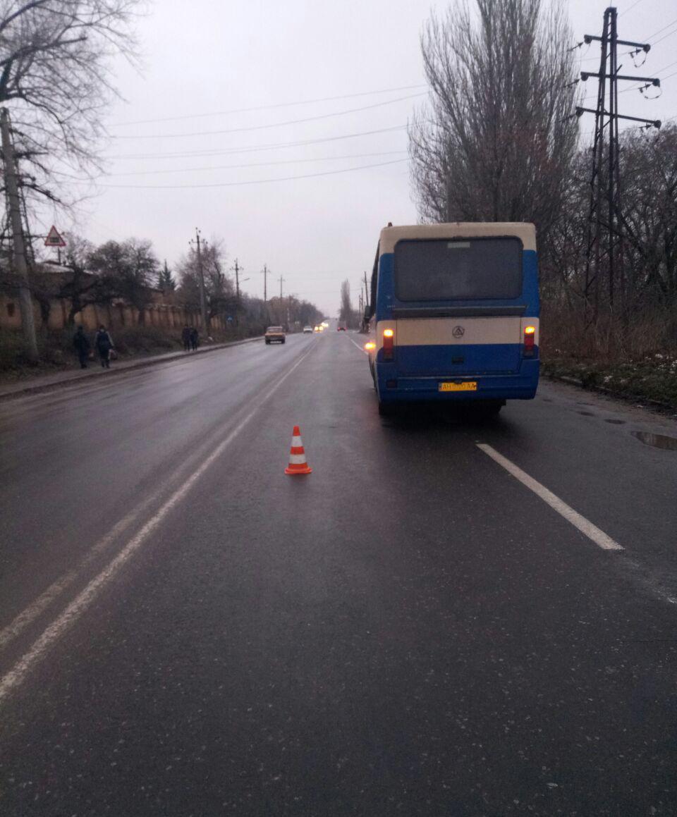 В Дружковке автобус сбил 26-летнего пешехода, фото-1