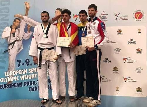 Дружковчанин Михаил Шелест завоевал «бронзу» чемпионата Европы по тхэквондо, фото-2