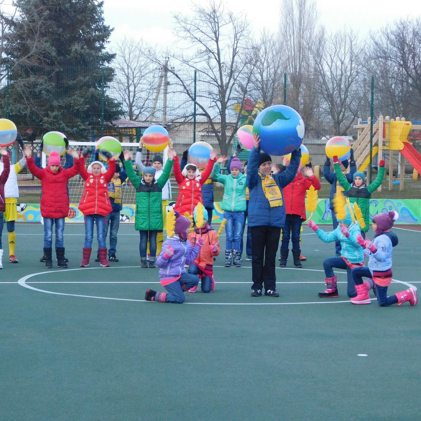 В Дружковском детском доме-интернате открыли спортплощадку с искусственным покрытием (ФОТО), фото-3