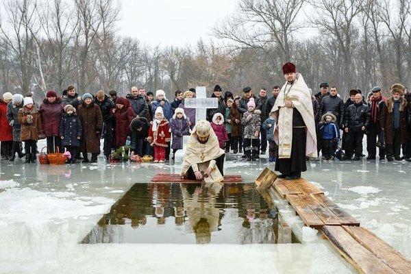 Сьогодні віруючі відзначають Хрещення Господнє, фото-1