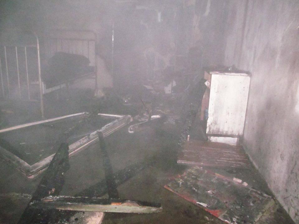 Ночью на пожаре в центре Дружковки погиб человек (ФОТО), фото-1