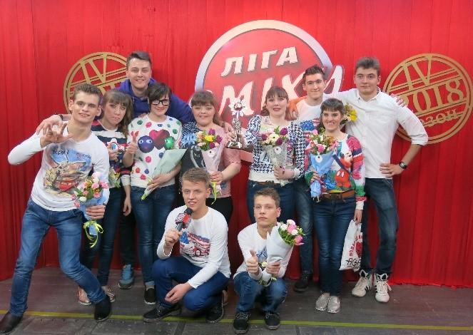Команда Дружковского детского дома-интерната стала чемпионом отборочного тура IV сезона «Лиги смеха», фото-1