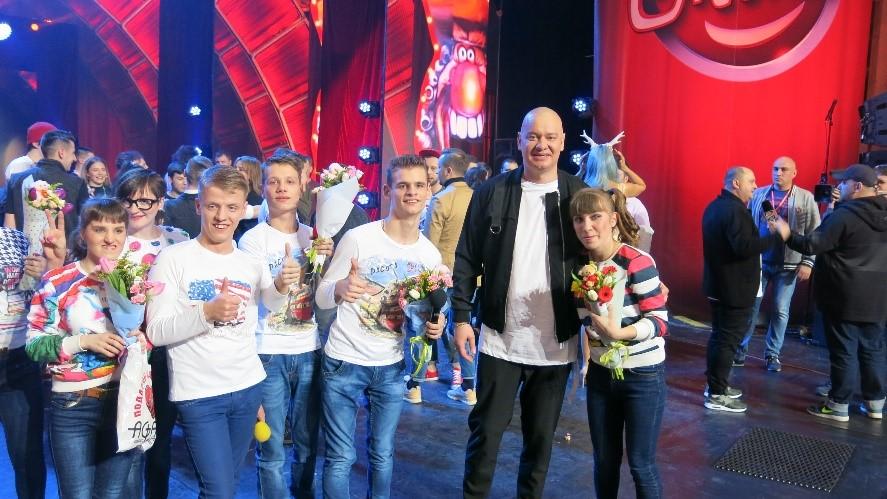 Дружковской команде «Свой формат» на фестивале «Лига смеха» в Одессе аплодировали стоя (ВИДЕО), фото-1