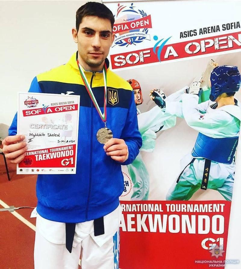 «Серебро» из Болгарии: Дружковчанин Михаил Шелест стал призером международного турнира по тхэквондо, фото-1