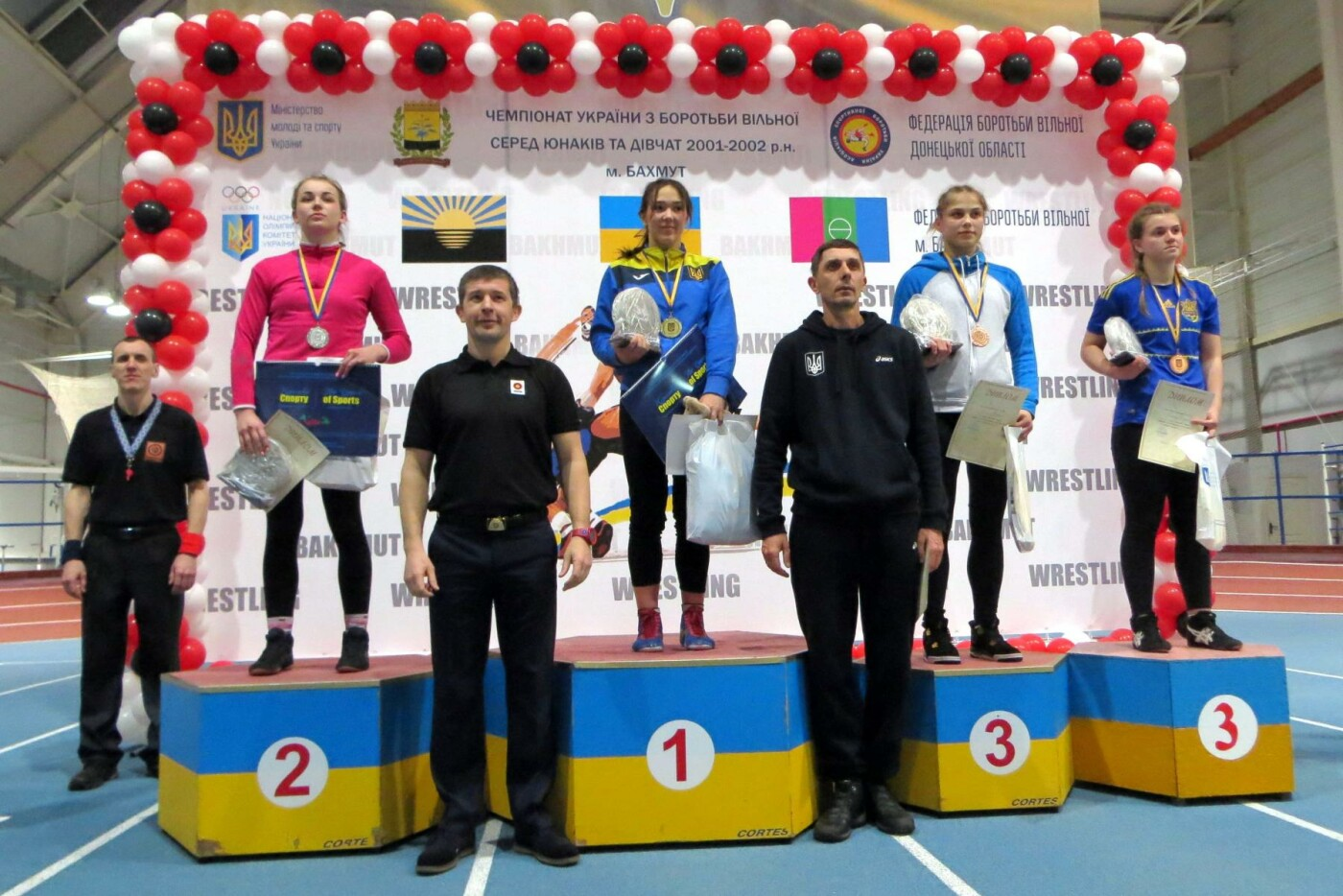 Дружковчанка Дарья Калиниченко завоевала «бронзу» чемпионата Украины по вольной борьбе, фото-1