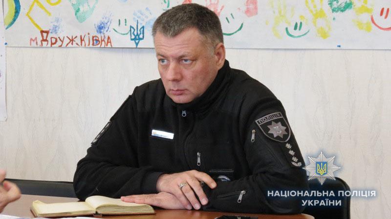 В Дружковке заместитель начальника полиции в Донецкой области провёл личный приём граждан, фото-1