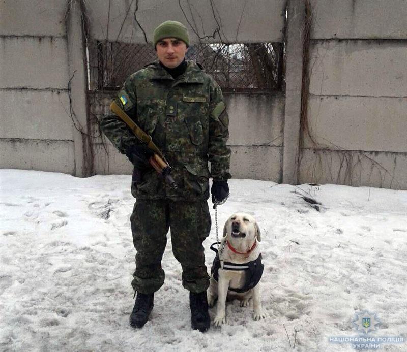 Пес его знает: В Дружковке полицейская собака помогла стражам порядка выйти на след злоумышленника, фото-1