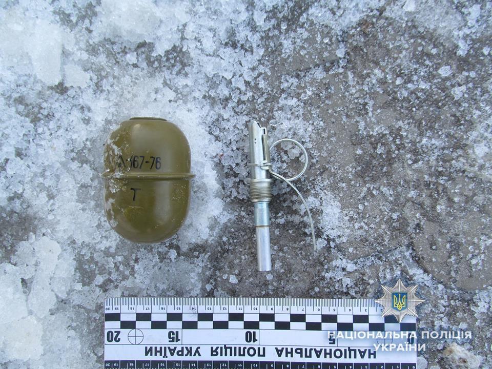 Вчера утром в Дружковке задержали мужчину с гранатой в руках, фото-1