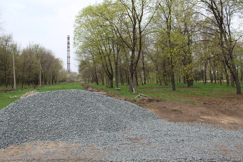В Дружковке всерьёз взялись за реконструкцию парка культуры и отдыха (ФОТО), фото-1