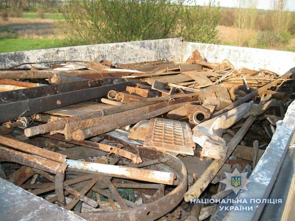 Дружковка: В посёлке Райское пресекли незаконную перевозку 20 тонн металла, фото-1