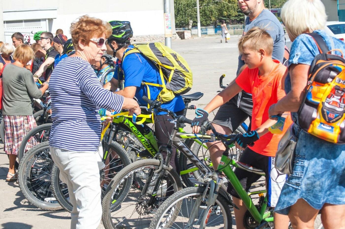 В Дружковке на День Независимости провели велопробег , фото-1