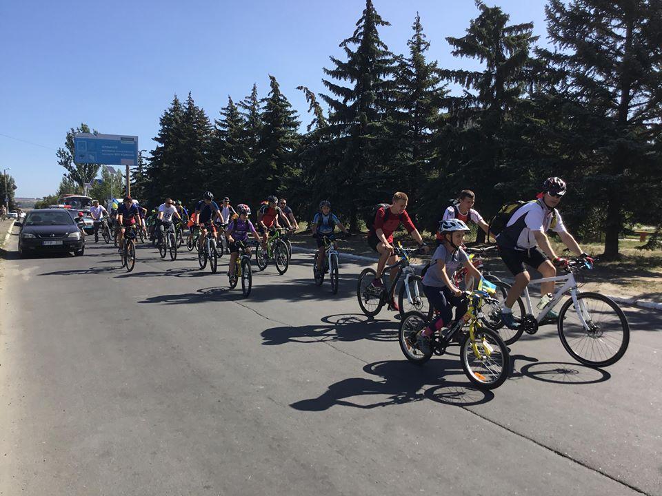 В Дружковке на День Независимости провели велопробег , фото-3